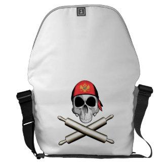 Montenegrin Chef 3 Courier Bag