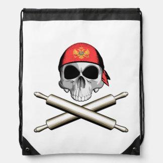 Montenegrin Chef 3 Cinch Bags
