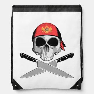 Montenegrin Chef Drawstring Bags