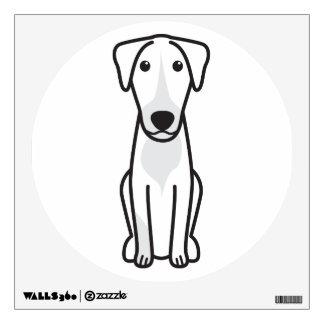 Montenegrin Mountain Hound Dog Cartoon Wall Sticker