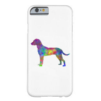 Montenegrin Mountain Hound in watercolor Barely There iPhone 6 Case
