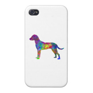 Montenegrin Mountain Hound in watercolor Cases For iPhone 4