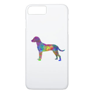 Montenegrin Mountain Hound in watercolor iPhone 7 Plus Case