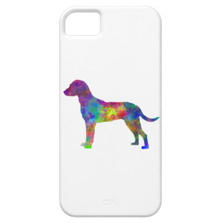 Montenegrin Mountain Hound in watercolor iPhone SE/5/5s Case