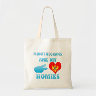 Montenegrins are my Homies Canvas Bag
