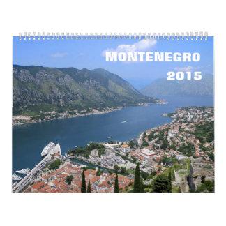 Montenegro 2015 Calendar