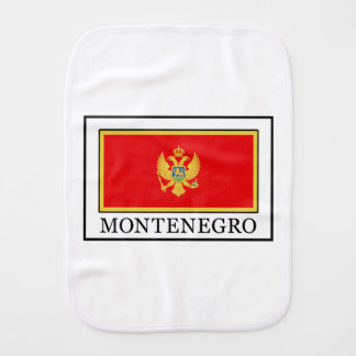 Montenegro Baby Burp Cloth