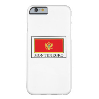 Montenegro Barely There iPhone 6 Case