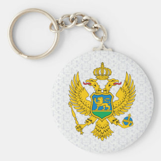 Montenegro Coat of Arms detail Key Chains