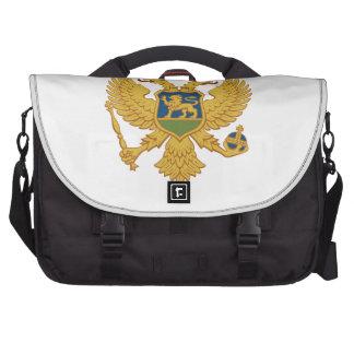 Montenegro Coat of Arms Laptop Bag