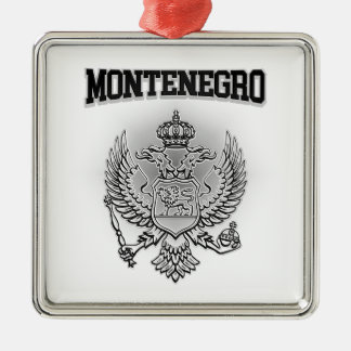 Montenegro Coat of Arms Metal Ornament
