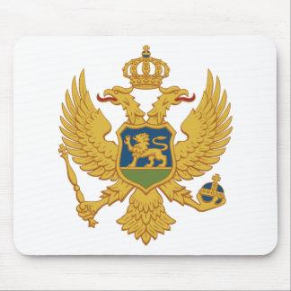 Montenegro Coat of Arms Mousepads