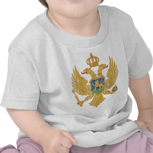 Montenegro Coat Of Arms Tee Shirt