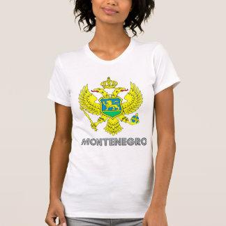 Montenegro Coat of Arms Tee Shirts