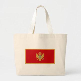 Montenegro Flag Canvas Bag