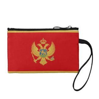 Montenegro Flag Coin Purses