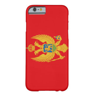 Montenegro Flag Barely There iPhone 6 Case