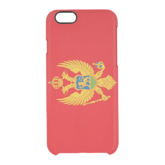Montenegro Flag Clear iPhone 6/6S Case