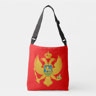 Montenegro Flag Crossbody Bag