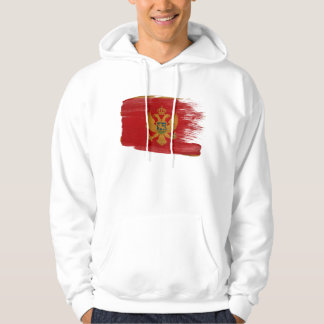 Montenegro Flag Hoodie