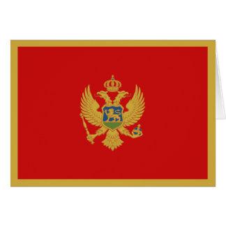 Montenegro Flag Notecard