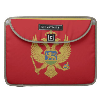 Montenegro flag sleeve for MacBook pro
