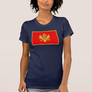 Montenegro Flag T Shirts