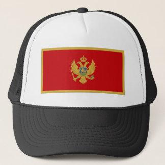 Montenegro Flag Trucker Hat