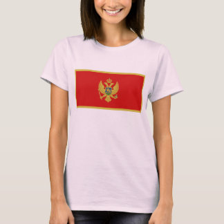 Montenegro Flag x Map T-Shirt