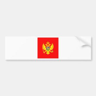 Montenegro High quality Flag Car Bumper Sticker