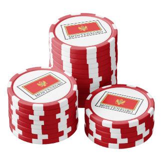Montenegro Poker Chips