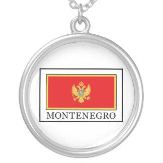 Montenegro Round Pendant Necklace