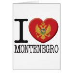Montenegro Tarjeta De Felicitación