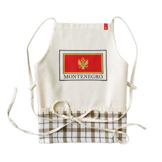 Montenegro Zazzle HEART Apron