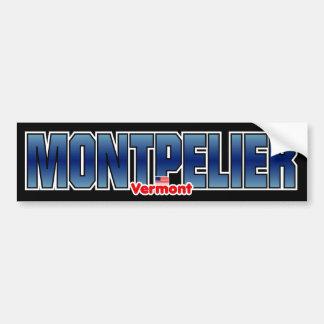 Montepelier Bumper Bumper Sticker