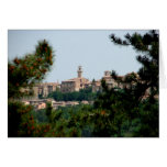 Montepulciano, Italy Greeting Cards