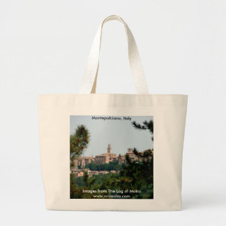 Montepulciano, Italy Large Tote Bag