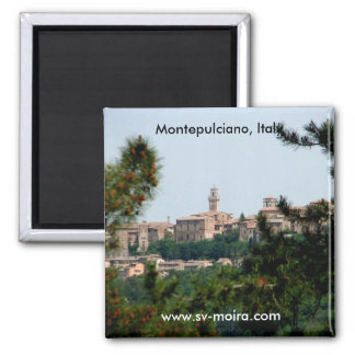 Montepulciano, Italy Magnet