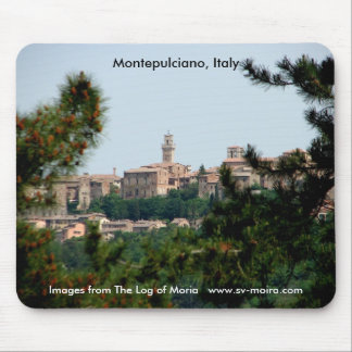 Montepulciano, Italy Mousepads