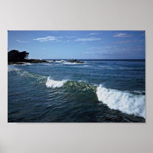Monterey Bay, California Poster