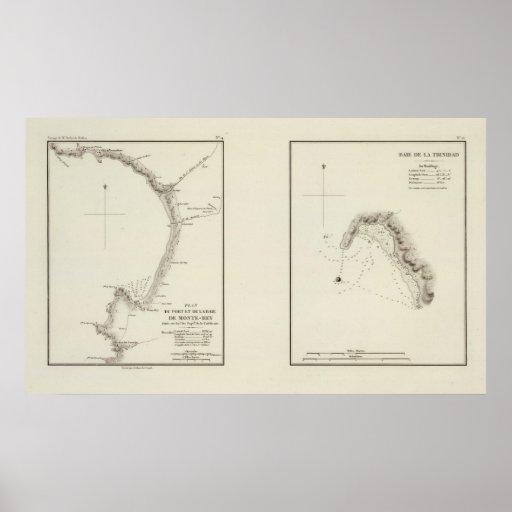 Monterey Bay, California Print