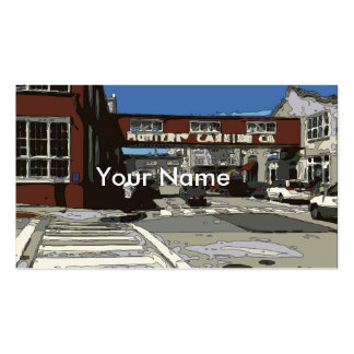 Monterey Bay Cannery Row Painting Business Cards