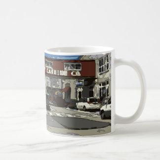 Monterey Bay Cannery Row Painting Coffee Mug