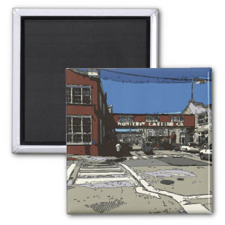 Monterey Bay Cannery Row Painting Magnet