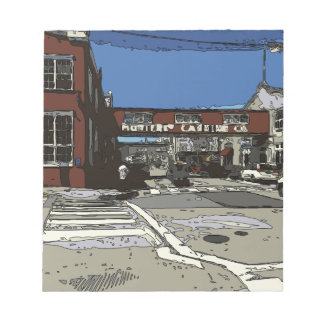 Monterey Bay Cannery Row Painting Note Pad