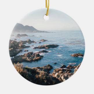 Monterey bay ceramic ornament