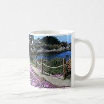 Monterey Bay Coast Line, Spring Path Mug