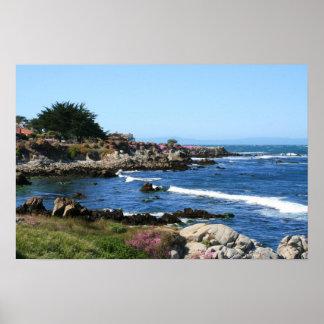 Monterey Bay Coastline Photo (3 of 6) Poster