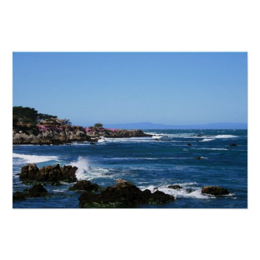 Monterey Bay Coastline Photo (6 of 6) Print