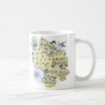 SketchyCharacters Monterey Bay Coffee Mug